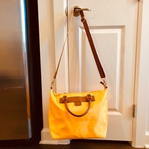 Co-lab Mustard Yellow Nylon Bag Crossbody LIKE NEW